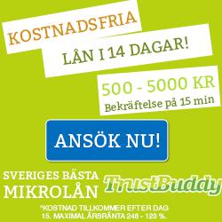 trustbuddy smslån
